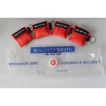 Cardiopulmonary Resuscitation Face Shield on Key Chain Pack of 25
