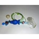 Adult CPR bag, w/Mask, Manometer, Peep Valve, O2 Reservoir Box of 6