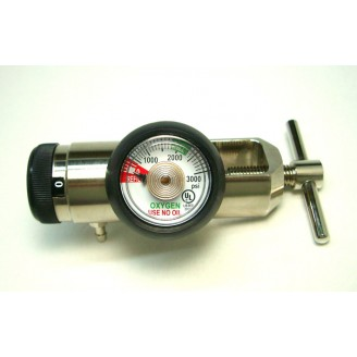 High Performance Regulators for Resuscitation and Oxygen Therapy (All Brass)
