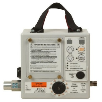 The EPV200 Portable Mechanical Ventilator